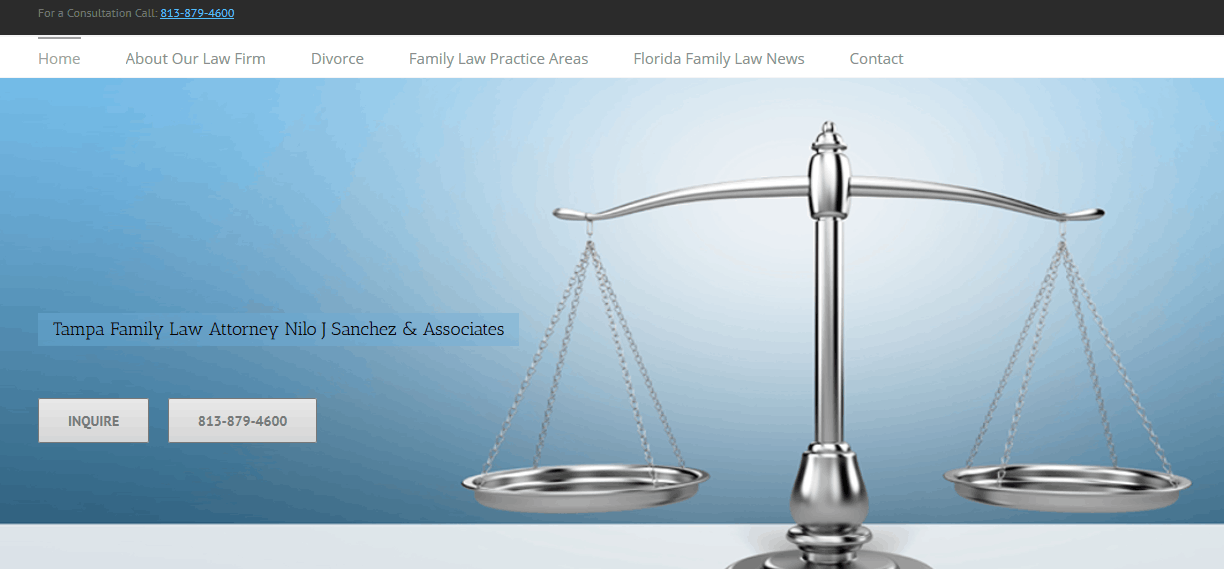 web design for family law attorneys