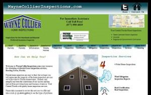Web design for Florida home inspectors