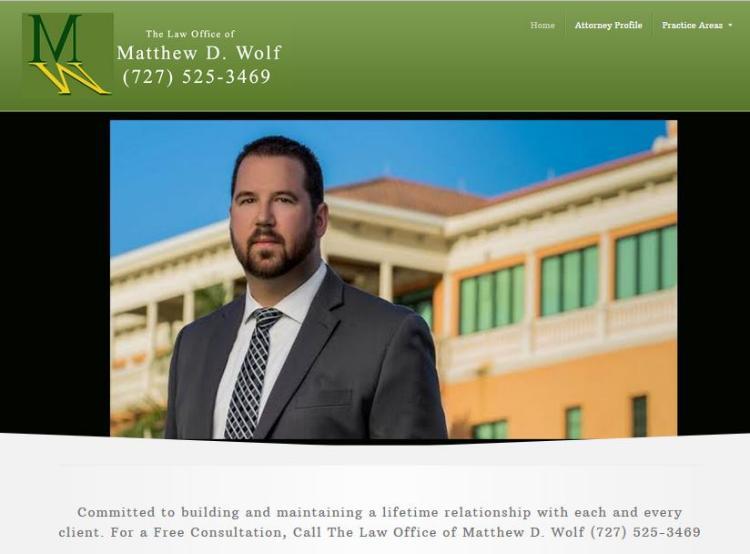 Affordable website design services for Florida attorneys