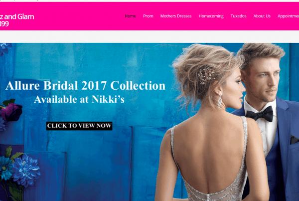website design for retailer Palm Harbor, FL