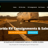 website design RV sales Florida