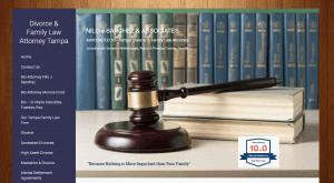 Web design for attorneys